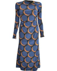 Rachel Comey Surveillance Dress In Waning Moon blue - Lyst