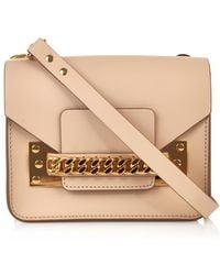 Sophie Hulme Mini Chain Envelope Cross-body Bag - Lyst