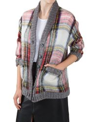 Sea Oversized Cardigan - Lyst