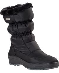 Pajar Snowcap Snow Boot Black Fabric - Lyst