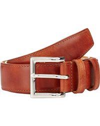 John Lobb - Leather Belt - Lyst