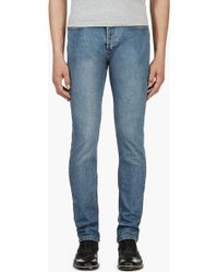 A.P.C. Blue Faded Petit New Standard Jeans - Lyst
