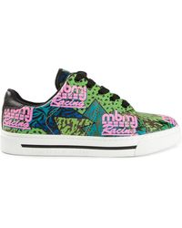 Marc By Marc Jacobs Multicolor Print Trainers - Lyst