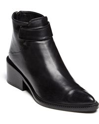 Helmut Lang Schist Ankle Boot - Lyst