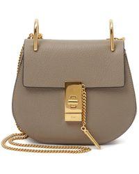 Chloé Drew Mini Leather Shoulder Bag - Lyst