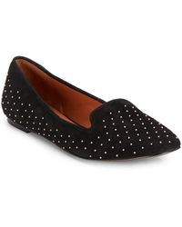 Rebecca Minkoff Alvin Too Studded Suede Loafers - Lyst
