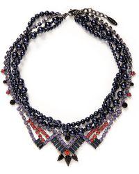 Joomi Lim - ''rebel Romance' Crystal Pearl Collar Necklace - Lyst