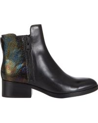 3.1 Phillip Lim Alexa Double-Zip Ankle Boots - Lyst
