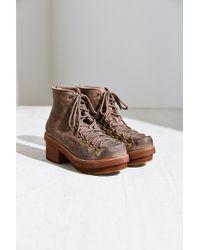Jeffrey Campbell Brown Aspen Boot - Lyst