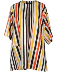 Dolce & Gabbana Full-Length Jacket yellow - Lyst