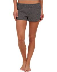 Betsey Johnson Cozy Lawn Pajama Short - Lyst