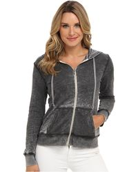 Allen Allen Ls Zip Jacket in Cloud Wash - Lyst