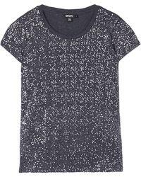 DKNY Short Sleeve Sequin T-Shirt - Lyst