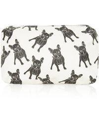 Topshop French Bulldog Make-up Bag - Lyst