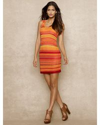 Blue Label Multi-knit Tank Dress - Lyst
