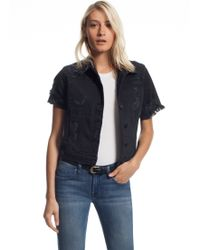 Genetic Los Angeles The Blondie Short Sleeve Jacket - Lyst