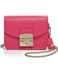 Furla Crossbody Bag - Metropolis Mini pink - Lyst