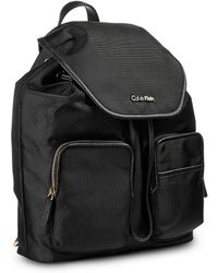 Calvin Klein Canvas Backpack - Lyst