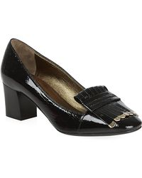 Lanvin Black Tasselled Court - Lyst