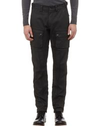 Belstaff Coated Twill Cargo Pants - Lyst