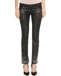 DSquared2 Trobetta Slim Jeans - Black - Lyst