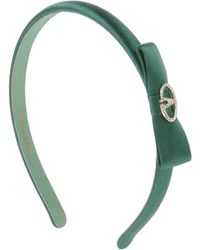 Valentino Green Hair Accessory - Lyst
