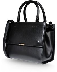 Victoria Beckham Medium Leather Bag - Lyst