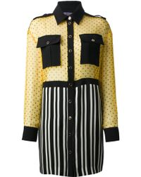 Emanuel Ungaro Shirt Dress - Lyst
