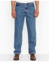 Levi's Big and Tall 560 Comfortfit Mediumwash Jeans - Lyst