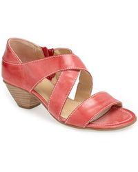 Fidji   Leather Sandal   Lyst