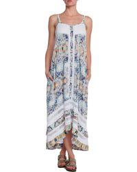 Twelfth Street by Cynthia Vincent Printed Western High Low Dress - Lyst