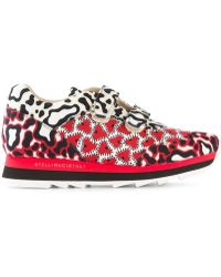 Stella McCartney 'Macy' Sneakers red - Lyst