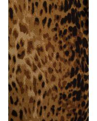 Indah Tenno Fringe Flounce Jumpsuit in Brown - Lyst