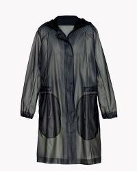 Theory Ninja Coat In Rain - Lyst