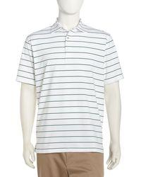 Peter Millar Sean Signature Stripe Golf Shirt - Lyst