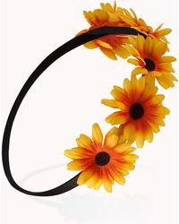 Forever 21 - Stunning Sunflower Crown - Lyst