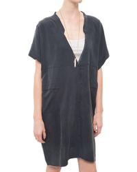 Humanoid Brilliant Dress blue - Lyst