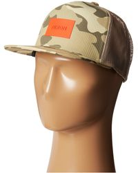 Nixon Team Trucker Hat - Lyst