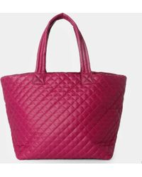 MZ Wallace Large Metro Tote Begonia Oxford pink - Lyst
