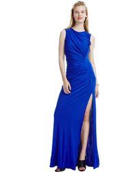 ABS By Allen Schwartz Chloe Draped Dress - Lyst
