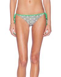 Vix Tie Side Bikini Bottom - Lyst