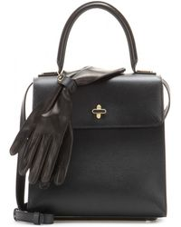 Charlotte Olympia Mytheresacom Limited Exclusive Bogart Leather Tote - Lyst