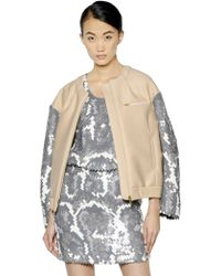 CO|TE - Sequined Neoprene Jacket - Lyst