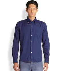 Gant Rugger Windblown Cotton Oxford Shirt - Lyst