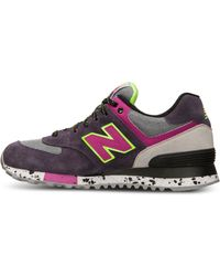 New Balance Womens 574 90s Casual Sneakers From Finish Line - Lyst