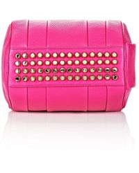 Alexander Wang Rockie in Soft Pebbled Flamingo with Pale Gold - Lyst