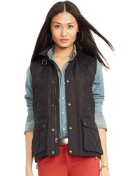 Polo Ralph Lauren Diamond-Quilted Vest - Lyst