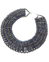 Nakamol - Wide Collar Necklace-montana Mix - Lyst