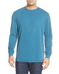 Bugatchi | Long Sleeve Crewneck Sweatshirt | Lyst