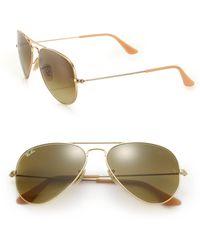 Ray-Ban | Original Aviator Sunglasses | Lyst